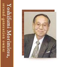 The Second-Generation President, Yoshifumi Morimitsu