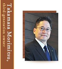 Takamasa Morimitsu, The Third-Generation President