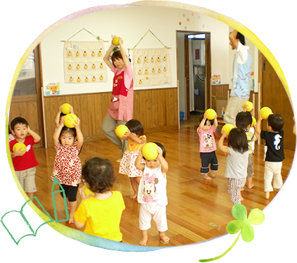We nourish the foundation of English education during early childhood with a unique program!
