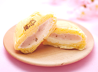 Sakura (cherry blossoms) flavored sweet bean paste
