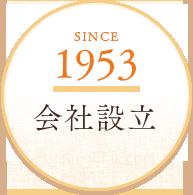 SINCE1958 会社設立