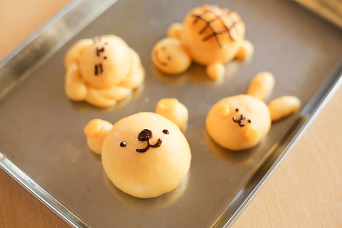 わくわくパン作り体験